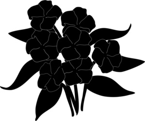 300x250 Flowers Clipart Image