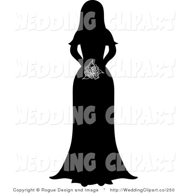 600x620 Bridesmaid Silhouette Clip Art Clipart Panda