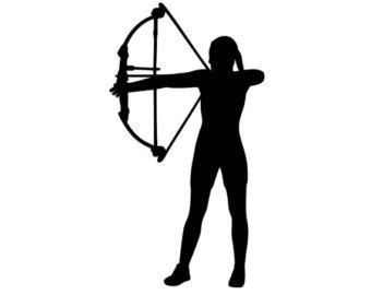 340x270 Female Archery Etsy