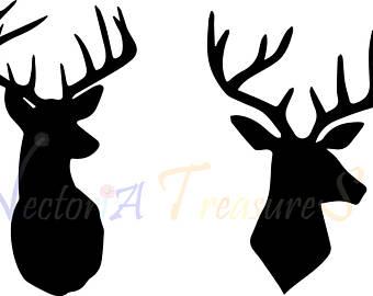 340x270 Deer Antler Svg Etsy
