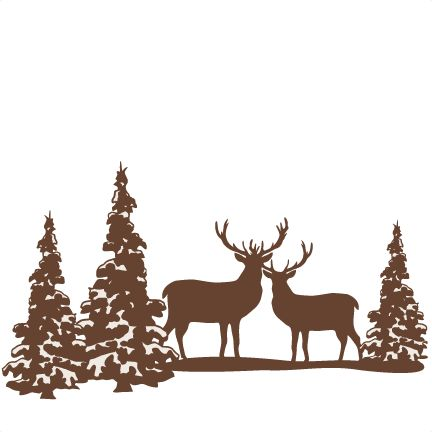432x432 Hunting Clipart Christmas