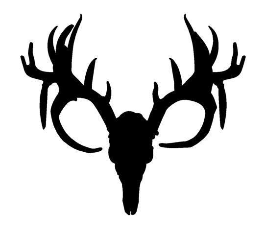 541x480 Deer Silhouette