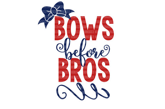 570x376 Bows Before Bros Svg Dxf Eps Png Cricut Design Space