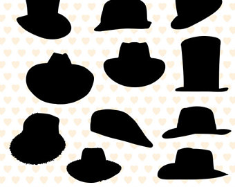 Bowler Hat Silhouette at GetDrawings.com  31e37364164