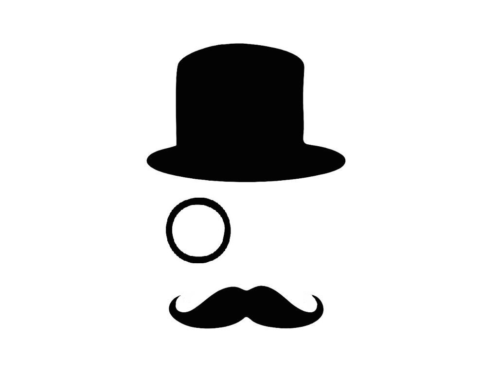 Bowler Hat Silhouette at GetDrawings.com   Free for ...