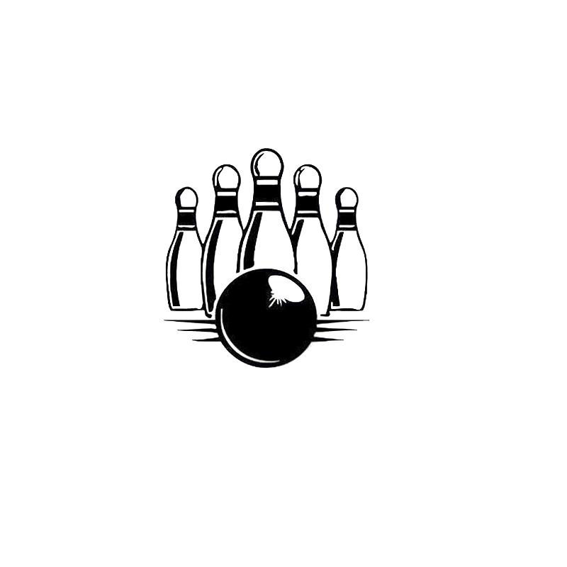 Bowling Pin Silhouette