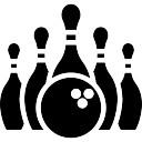 128x128 Bowling Pin Icons Free Download