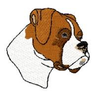 200x200 Boxer Puppy Clipart