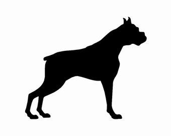 340x270 Basenji Dog Silhouette Custom Die Cut Vinyl Decal Sticker