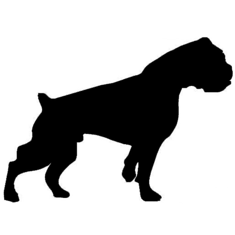 800x800 Buy Boxer Dog Silhouette And Get Free Shipping