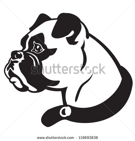 450x470 Boxer Dog Face Coloring Page