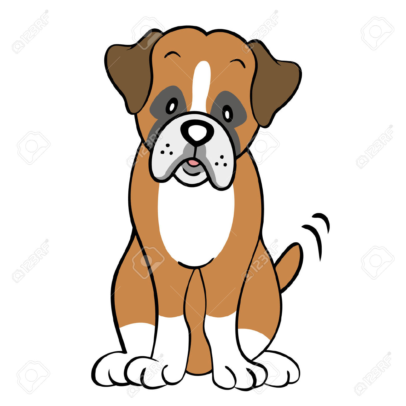 1300x1300 Boxer Dog Clipart Many Interesting Cliparts