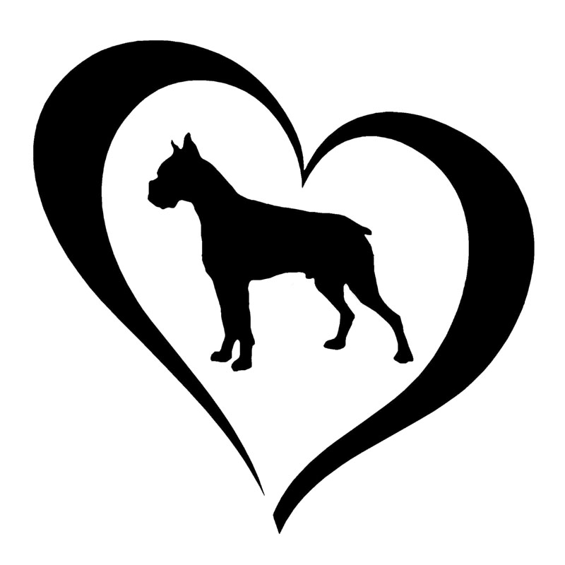 800x800 Buy Boxer Dog Stickers And Get Free Shipping