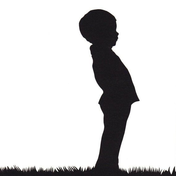 570x570 Profile Clipart Boy Shadow