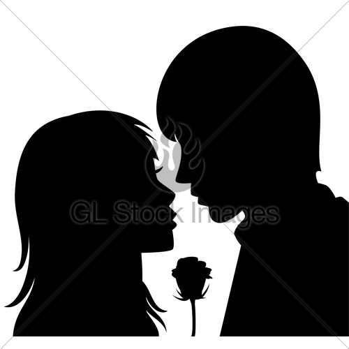 500x500 Boy And Girl Silhouette Collection (81+)