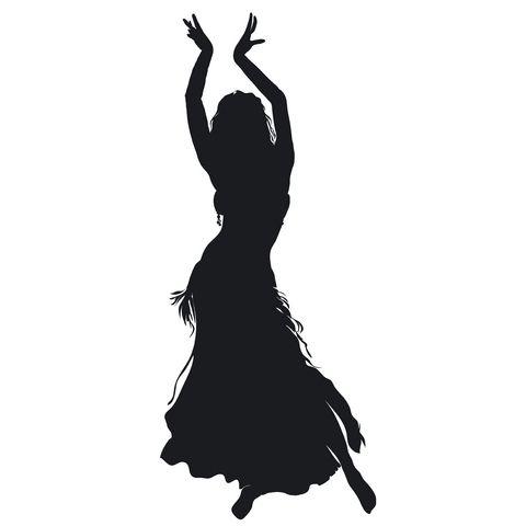 480x480 Arabian Dancer Clipart
