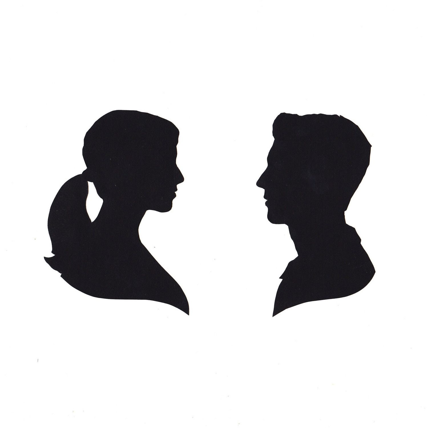 1500x1500 Gallery Mom Face Silhouette,