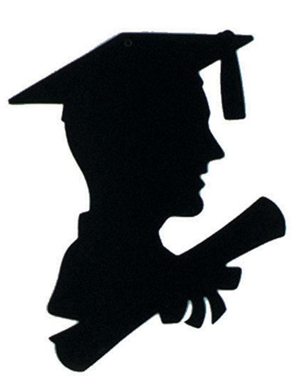 621x800 Get Your Boy Graduate Silhouette Decoration