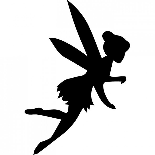 Boy Fairy Silhouette At Getdrawings Com Free For