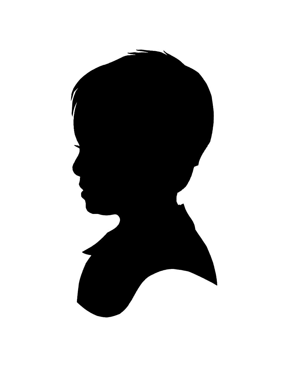 960x1254 Clip Art Boy Silhouette Clip Art