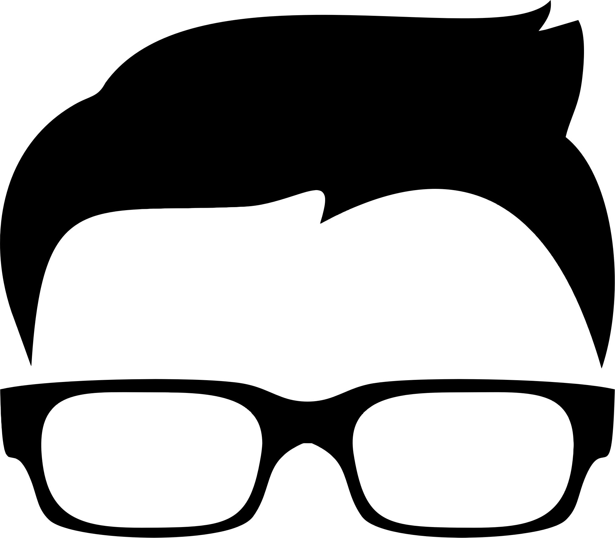 2022x1769 Hipster Boy Silhouette Icon Icons Png