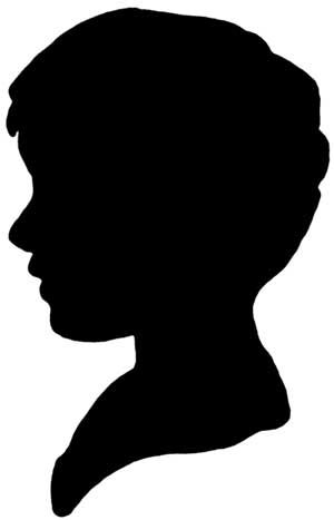 300x467 Silhouette Clipart Silhouettes, Stenciling And Picasa
