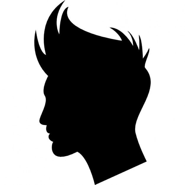 626x626 Boy Hair Shape Icons Free Download