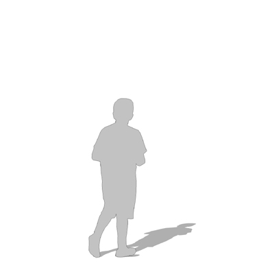 Boy Silhouette Outline