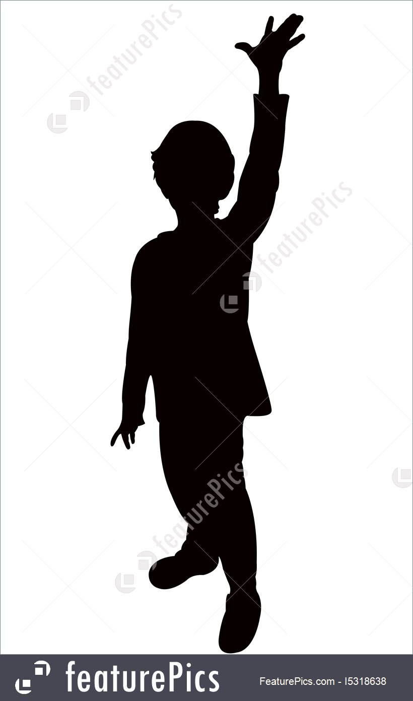 Boy Silhouette Vector