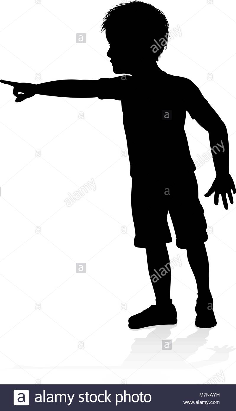 798x1390 Child Kid Silhouette Stock Vector Art Amp Illustration, Vector Image