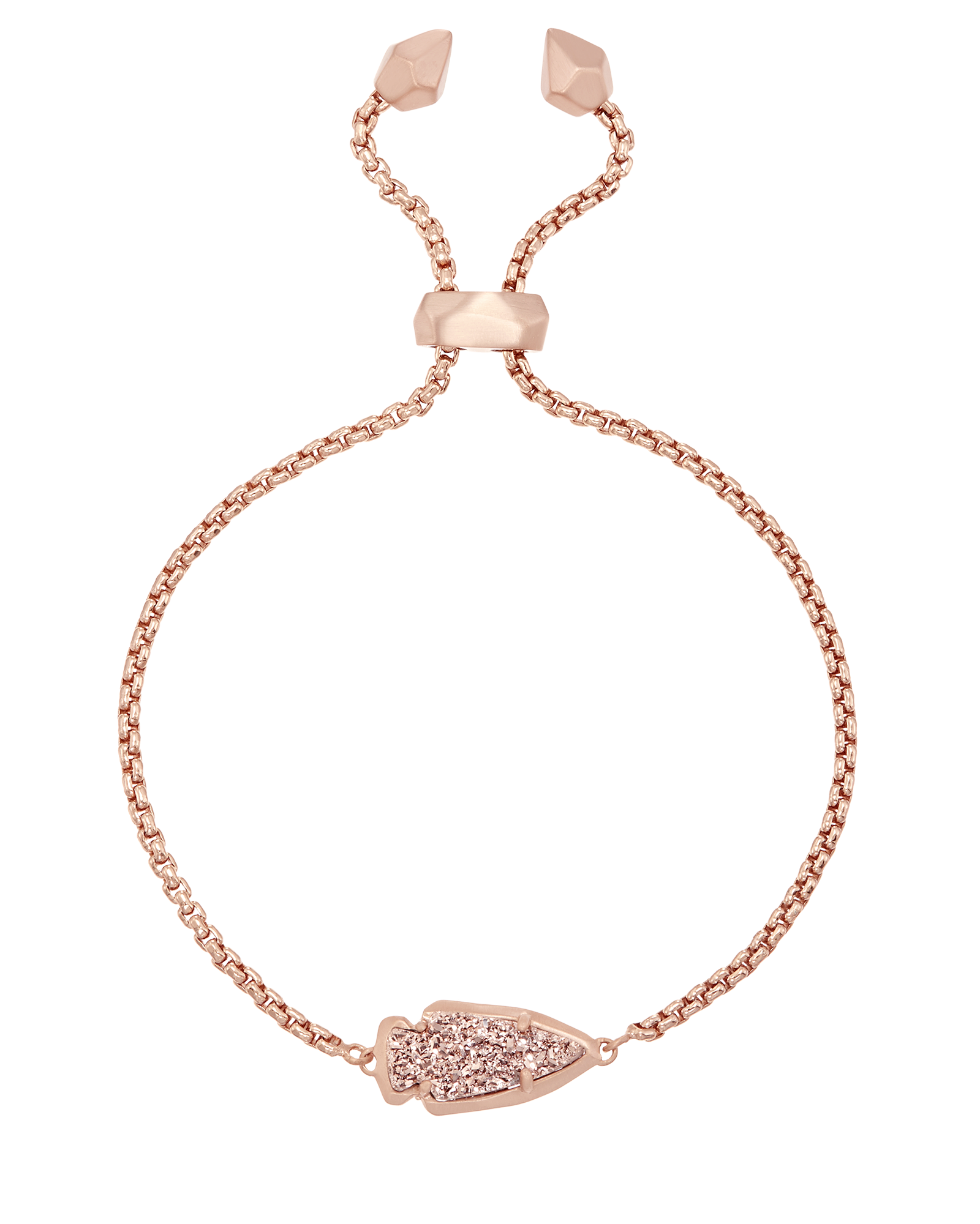 1600x2000 A Simple Arrowhead Silhouette Shines In A Pink, Rose Gold Drusy