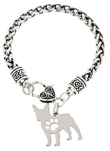 366x500 French Bulldog Bracelet Gift Love Dog Breed Silhouette Charm