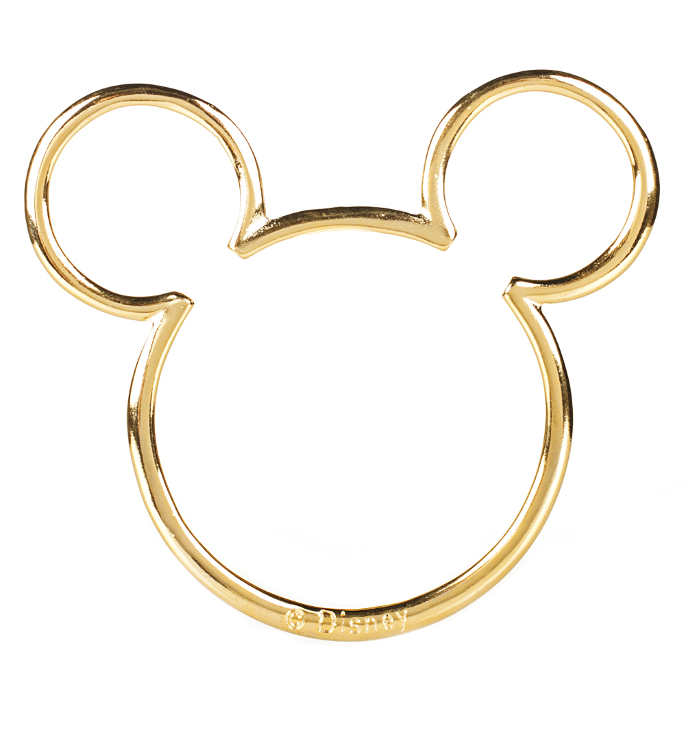1001x1075 Gold Plated Mickey Mouse