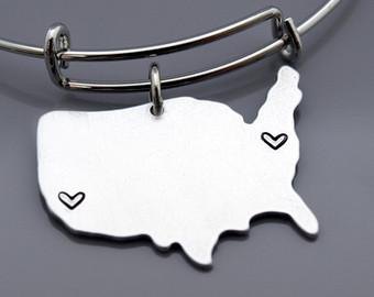 340x270 Silhouette Bracelet Etsy