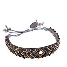 230x230 Beaded Silhouette Bracelet Hsn