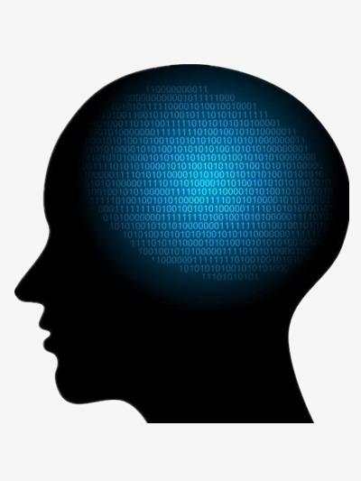 400x533 Silhouette Of The Human Brain, Silhouette Creative, Human Brain