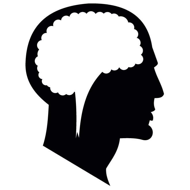 660x660 Vector Silhouette Of A Head