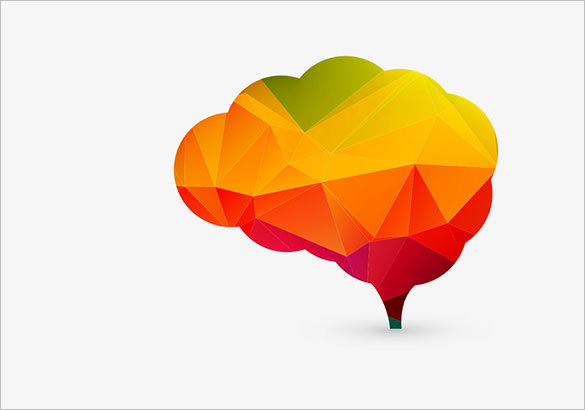 585x410 Human Brain Vectors Eps, Png, Jpg, Svg Format Download