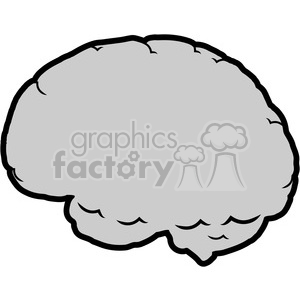 300x300 Royalty Free Brain Illustration Outline 390074 Vector Clip Art