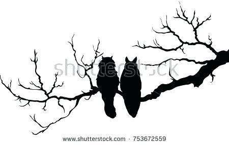 450x286 Branch Silhouette Branch Silhouette Clip Art