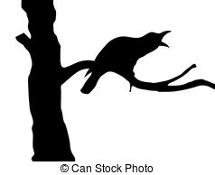 238x194 Tree Branch Silhouette, Vector Graphics. Tree Branch