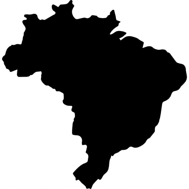 626x626 Brazil Map Icons Free Download