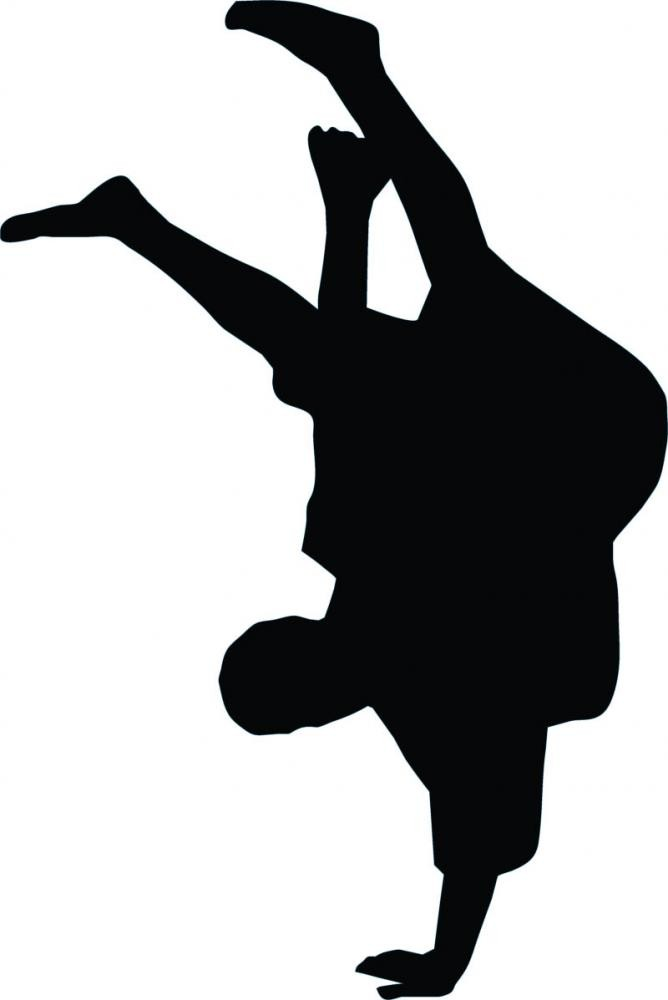 668x1000 Freestyle Break Dance Silhouette