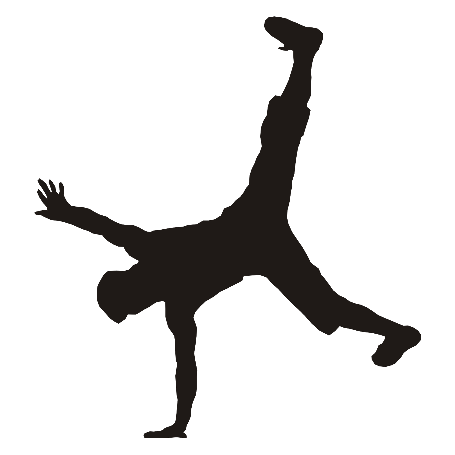 1500x1500 Vector For Free Use Breakdancer