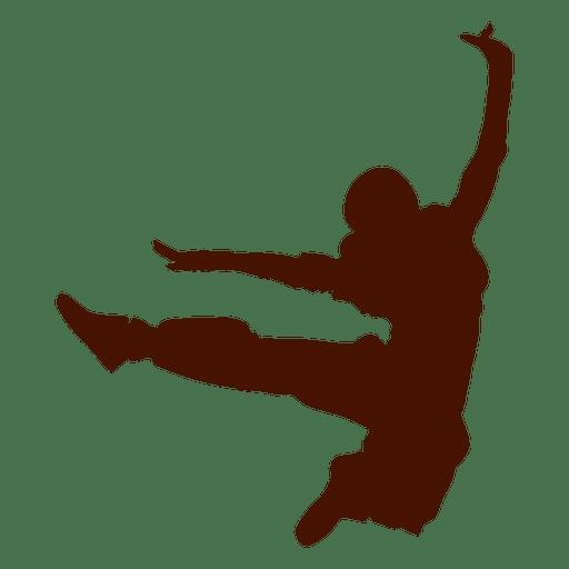 512x512 Dancer Break Dance Silhouette 2