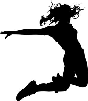 295x340 Hip Hop Jumping Dancer Design By Shirtforfun, Hobbies Interest T