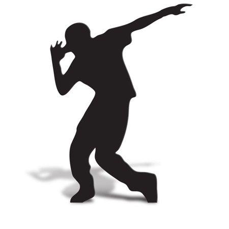 450x450 Break Dancer 2 Cut Out Silhouette Drama Club