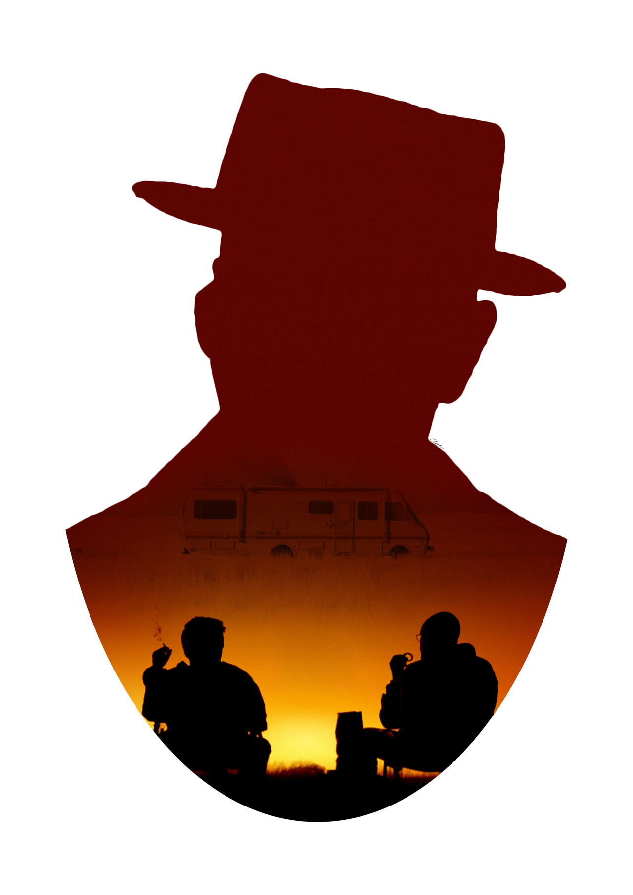 1280x1810 Heisenberg Chronicles Craigjosephloweart Breaking Bad Double