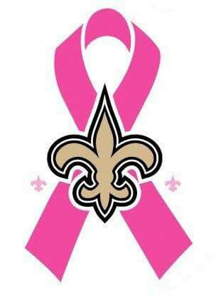 304x415 New Orleans Saints Breast Cancer Awareness Ribbon My New Orleans