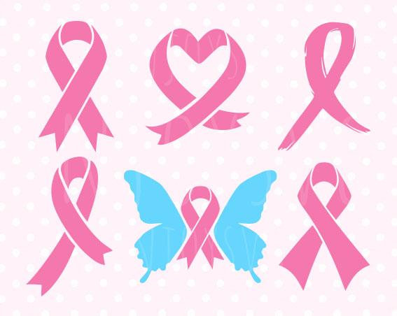 567x452 Pink Ribbon Svg Pink Ribbon Svg Files Breast Cancer Ribbon Svg